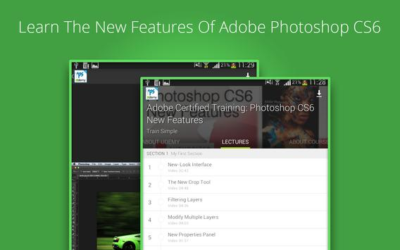 Learn Photoshop CS6 by Udemy for Android - APK Download