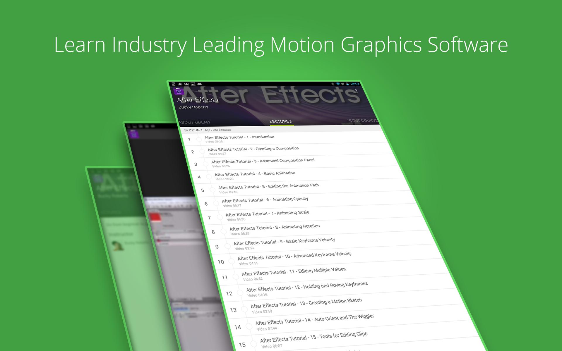 Learn After Effects by Udemy for Android - APK Download