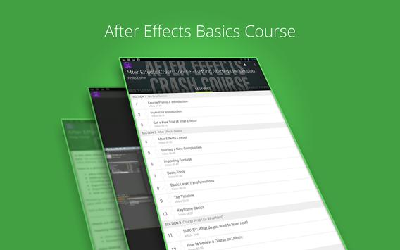Udemy After Effects Course screenshot 4