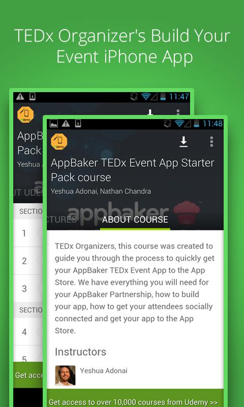 Learn AppBaker - Udemy Course for Android - APK Download