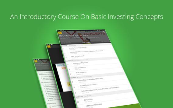 Basic Investing Concepts apk screenshot