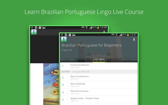Learn Brazilian Portuguese screenshot 5