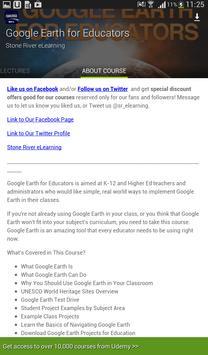Learn Google Earth by Udemy screenshot 16
