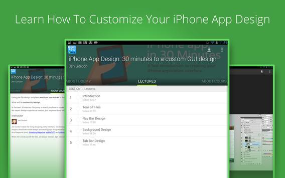 Learn iphone apps design screenshot 3