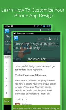 Learn iphone apps design poster
