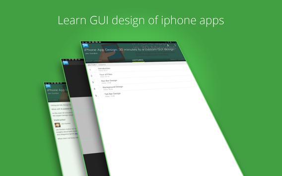 Learn iphone apps design screenshot 4