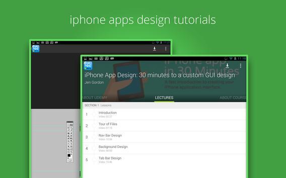 Learn iphone apps design screenshot 5