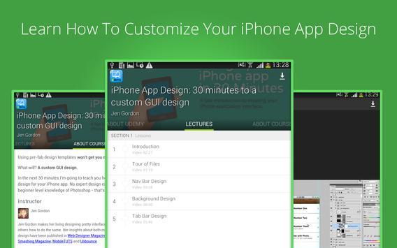 Learn iphone apps design screenshot 6