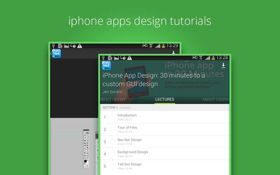 Learn iphone apps design screenshot 8