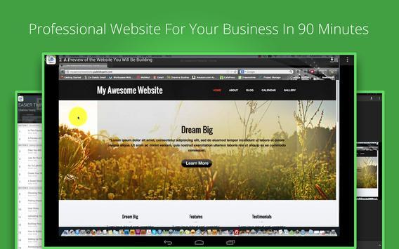 Design Your Business Website poster