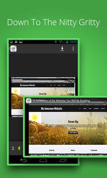 Design Your Business Website apk screenshot