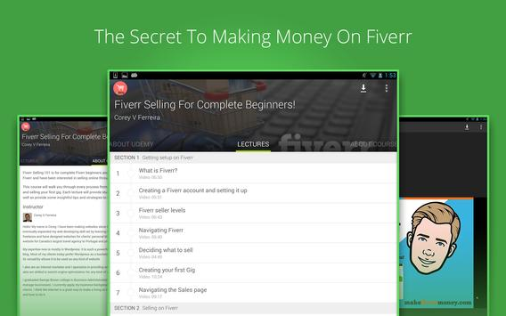 Fiverr Gig Selling Course screenshot 3