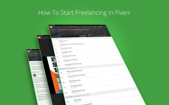 Fiverr Gig Selling Course screenshot 4