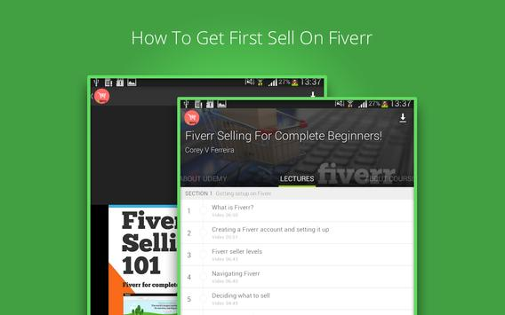 Fiverr Gig Selling Course screenshot 8