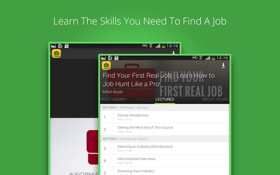 Job Hunt Course screenshot 2