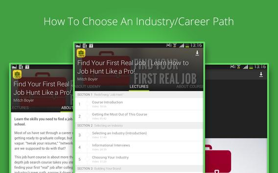 Job Hunt Course screenshot 6