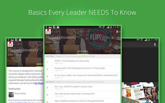 Flipped Learning apk screenshot