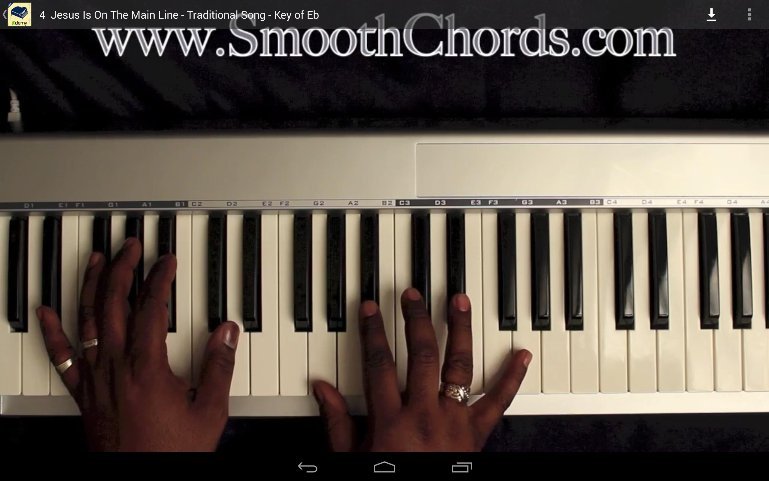 Gospel Piano Lessons for Android - APK Download