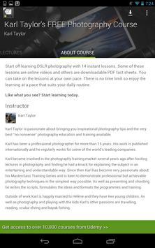 Photography Tutorials screenshot 16