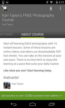 Photography Tutorials screenshot 4