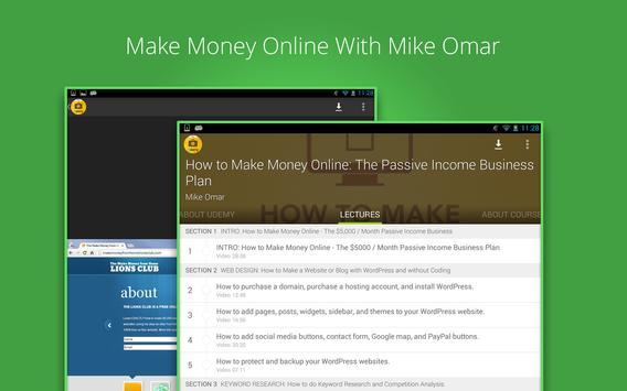 Make Money Online Course screenshot 5