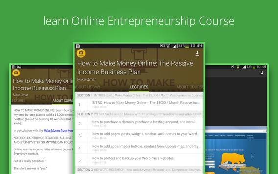 Make Money Online Course screenshot 6