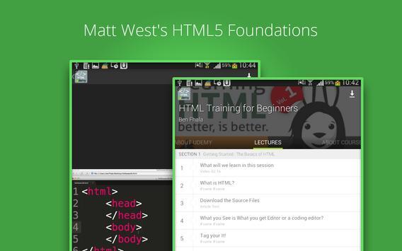 Beginners HTML Training screenshot 2