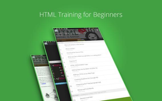 Beginners HTML Training screenshot 7