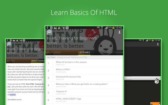 Beginners HTML Training screenshot 6