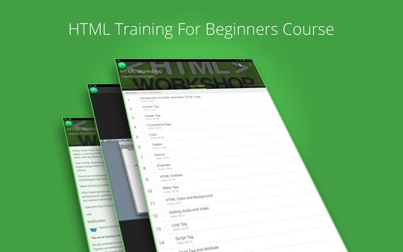 Basic HTML Tutorial by Udemy screenshot 4