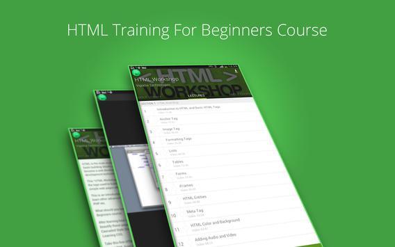 Basic HTML Tutorial by Udemy screenshot 7