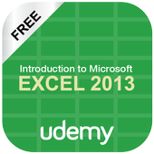 Basic Excel 2013 :Udemy Course icon