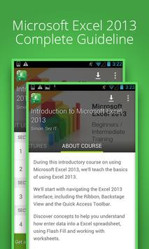 Basic Excel 2013 :Udemy Course poster