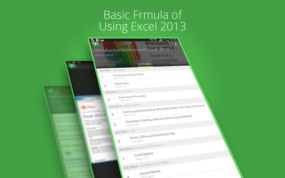 Basic Excel 2013 :Udemy Course screenshot 7