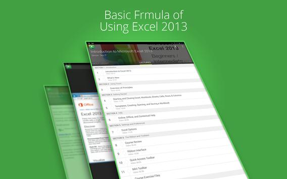 Basic Excel 2013 :Udemy Course screenshot 4