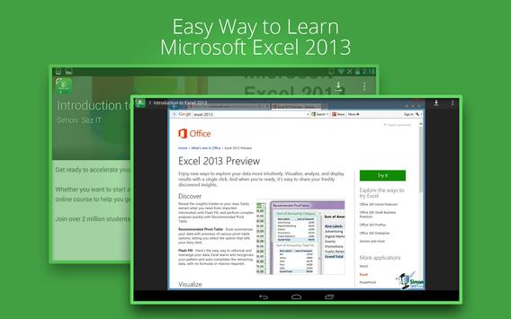 Basic Excel 2013 :Udemy Course screenshot 5