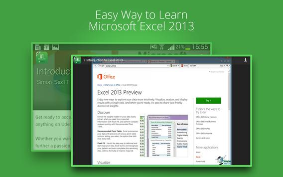 Basic Excel 2013 :Udemy Course screenshot 8