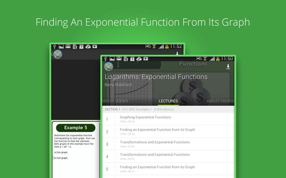 Exponential Functions Course screenshot 2