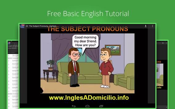 Learn English Basics screenshot 3