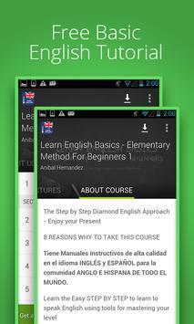 Learn English Basics poster