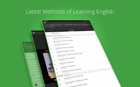 Learn English Basics screenshot 4