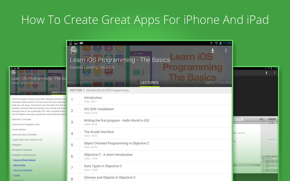 Learn ios Programming by Udemy for Android - APK Download