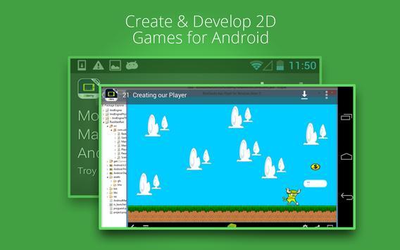 How To Make 2D Game apk screenshot