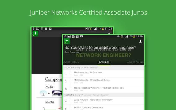 become a network engineer apk screenshot - Associate Network Engineer