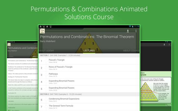 Binomial Theorem Tutorials screenshot 3