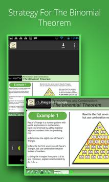 Binomial Theorem Tutorials screenshot 1