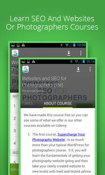 SEO for Photographers poster