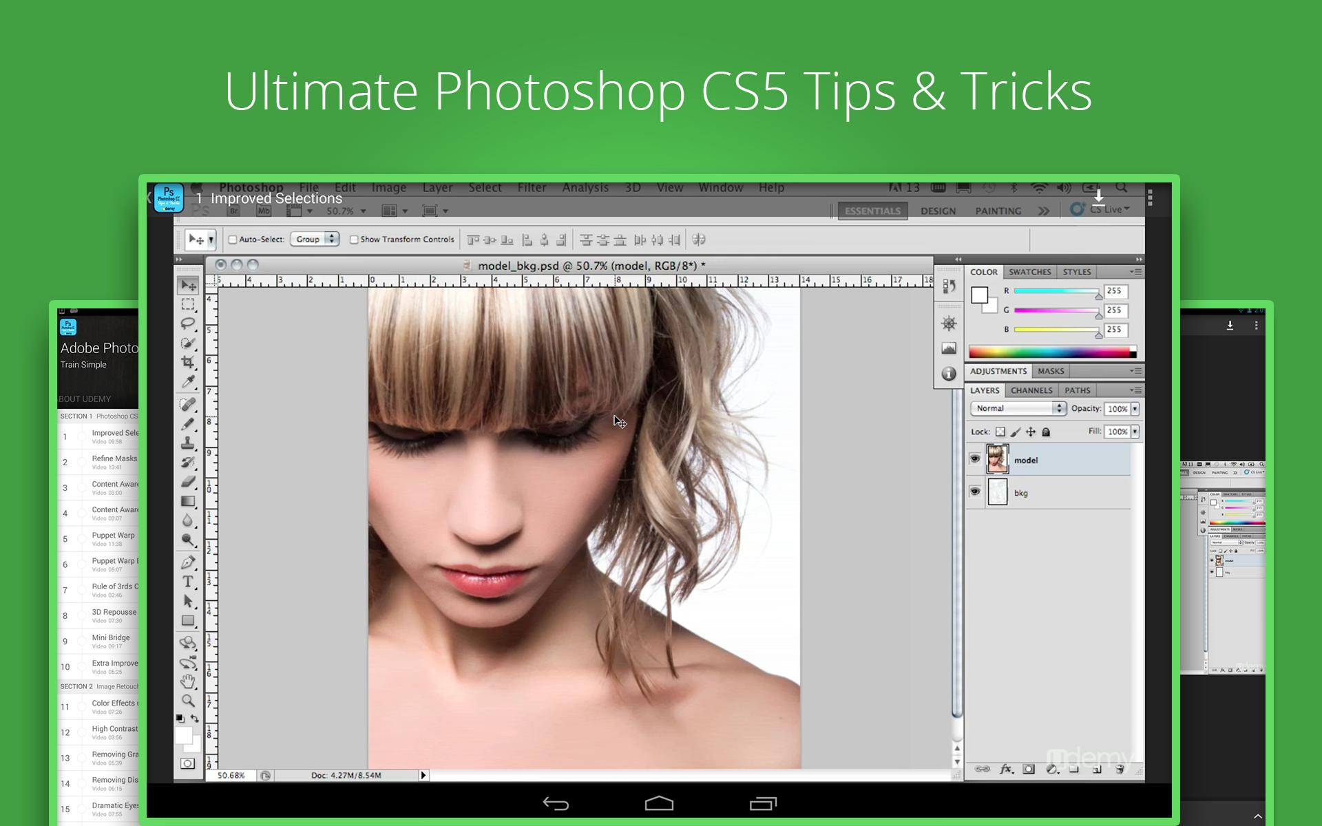 Udemy Photoshop CS5 Tutorials for Android - APK Download