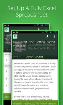 Basic Excel 2013 Course poster