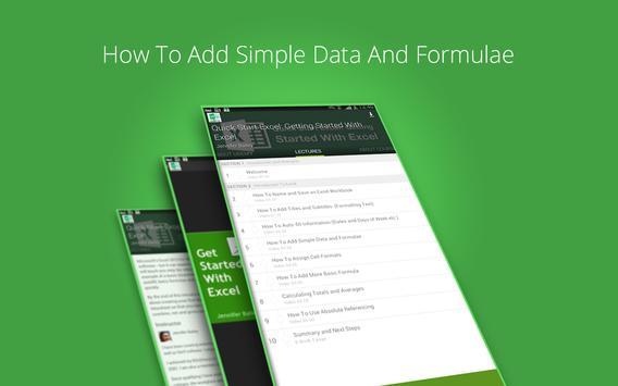 Basic Excel 2013 Course screenshot 7